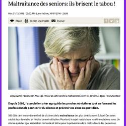 9. Maltraitance des seniors : brisez le tabou !